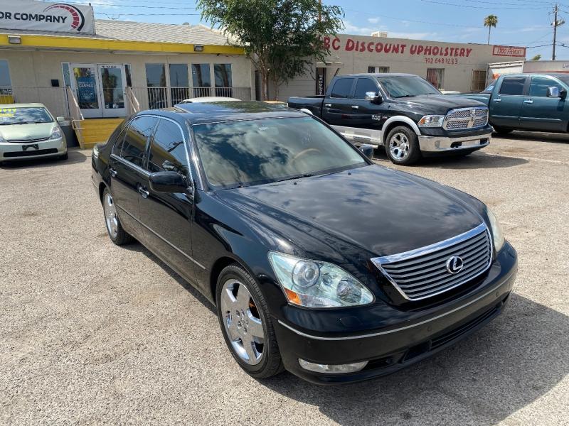 Lexus LS 430 2005 price $11,220