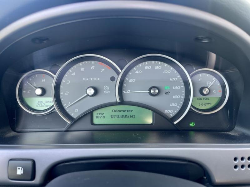 PONTIAC GTO 2006 price $18,900