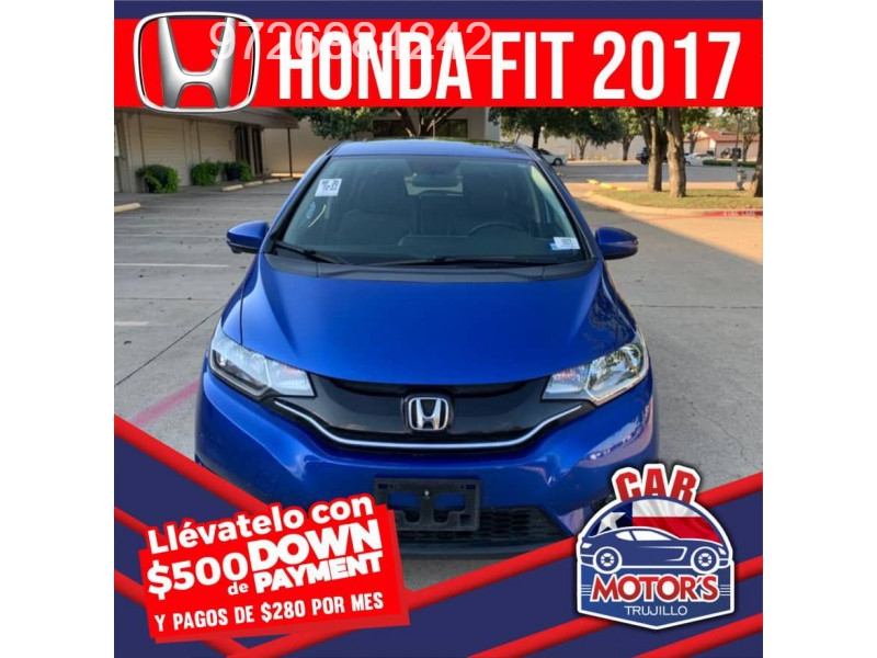 Honda FIT 2017 price $500 Down