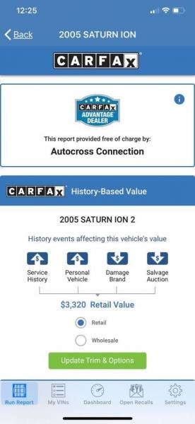 Saturn Ion 2005 price $2,999