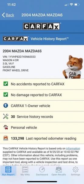 Mazda 6 2004 price $4,999