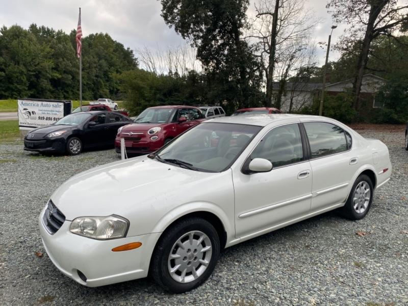 Nissan Maxima 2001 price $2,999