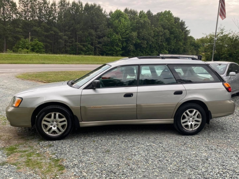 Subaru Legacy Wagon 2003 price $0