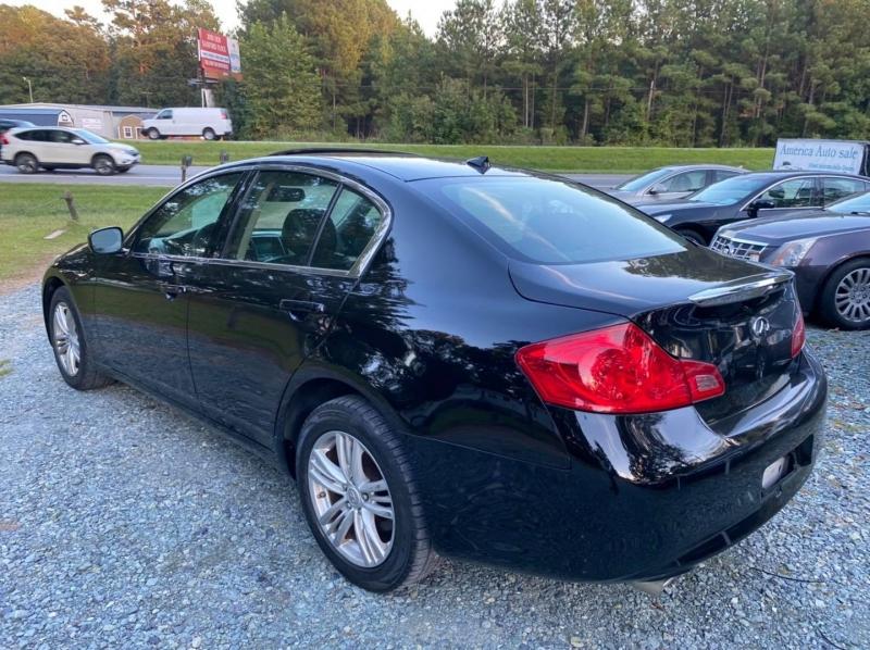Infiniti G25 Sedan 2012 price $9,995
