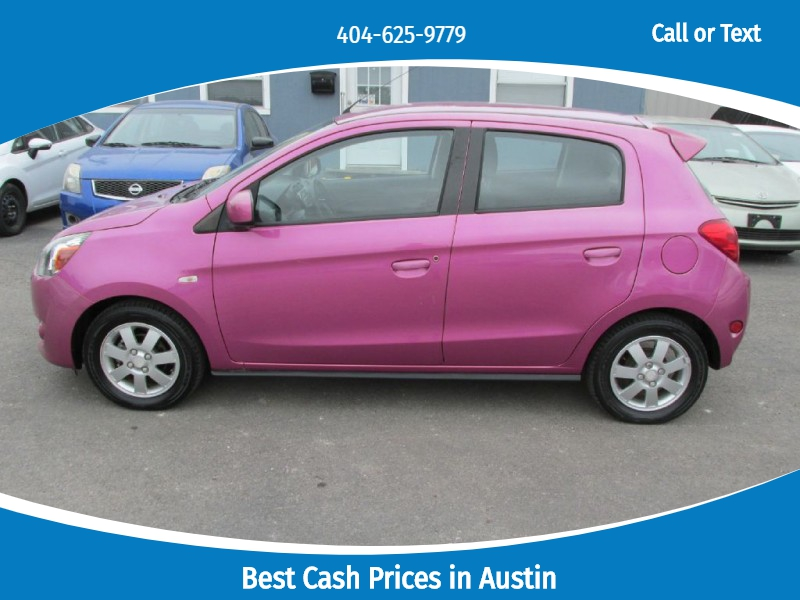 MITSUBISHI MIRAGE 2014 price $4,000