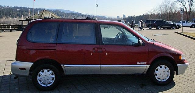 Nissan Quest 1997 price $1,500