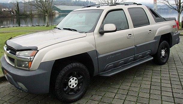 Chevrolet Avalanche 2003 price $4,900