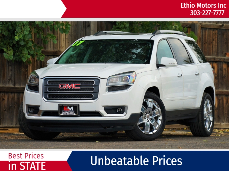 GMC Acadia Limited 2017 price 28500 + $499(D&H)