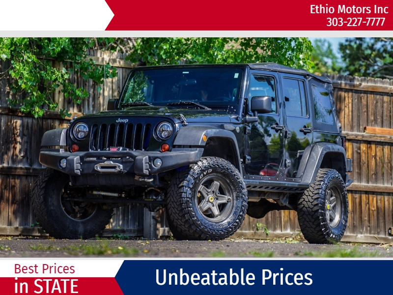 Jeep Wrangler Unlimited 2012 price 28500 + $499(D&H)