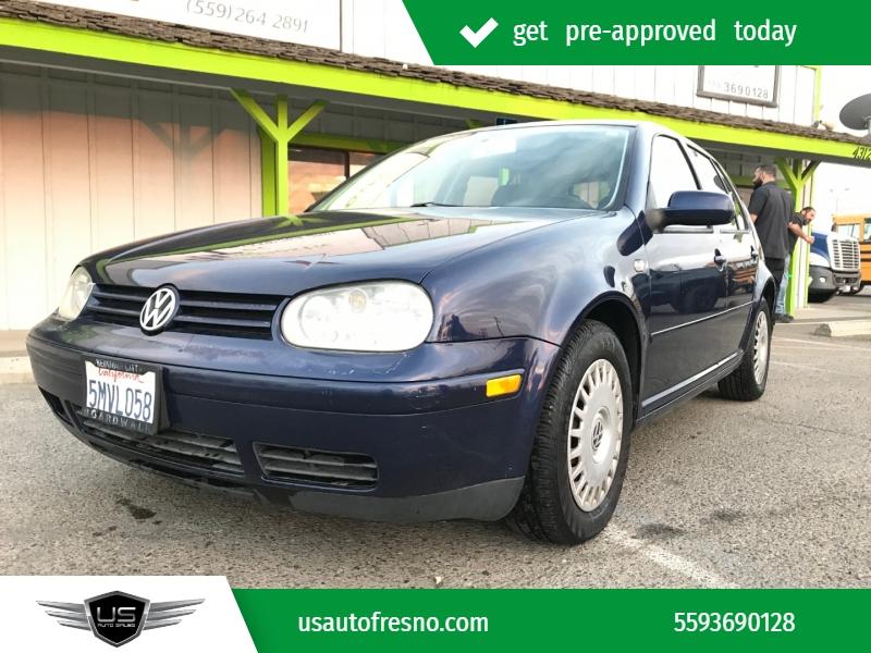 2002 Volkswagen Golf 4dr HB GLS