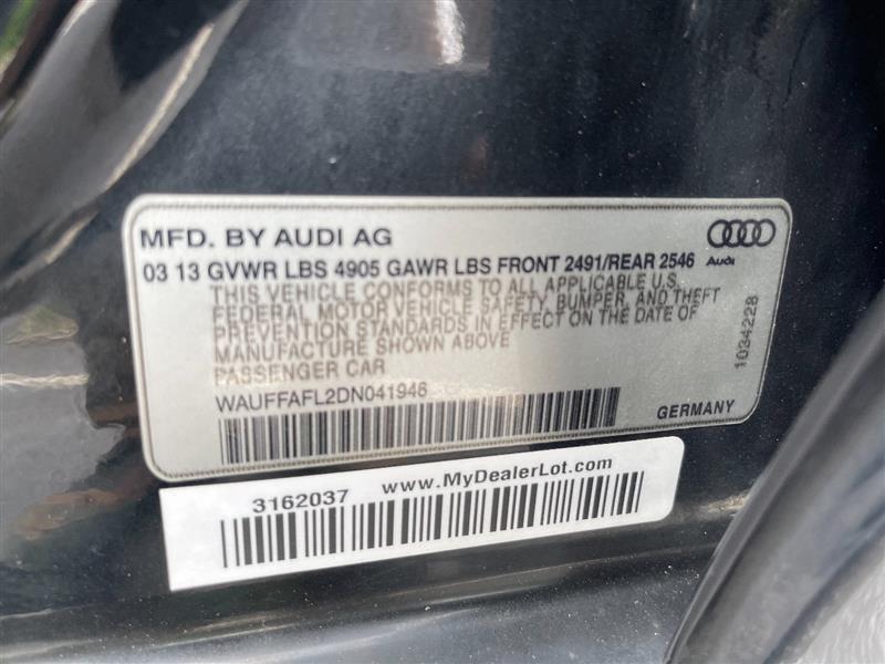 AUDI A4 2013 price $14,987