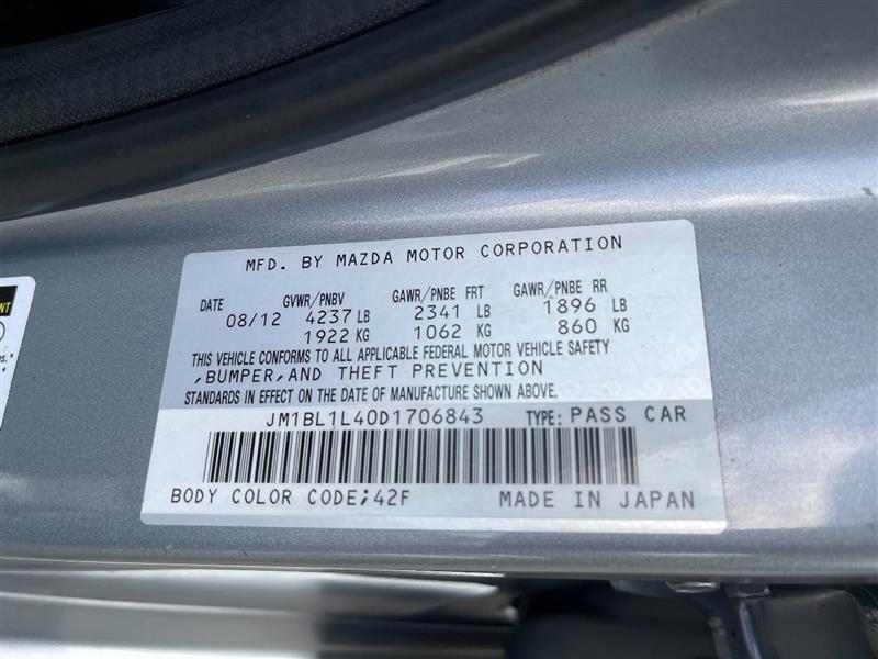 MAZDA MAZDA3 2013 price $12,795