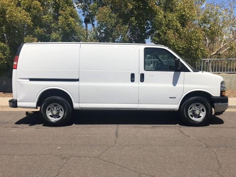 Chevrolet Express Cargo Van 2008 price $0
