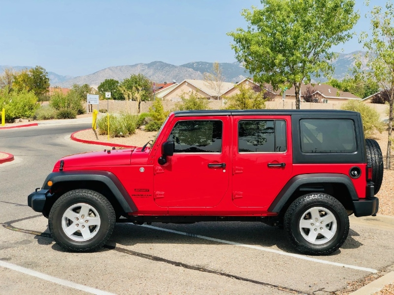 Jeep Wrangler Unlimited 2014 price $19,900
