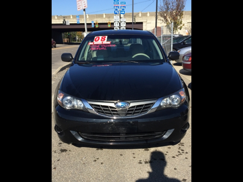 Subaru Impreza Sedan (Natl) 2008 price $4,795