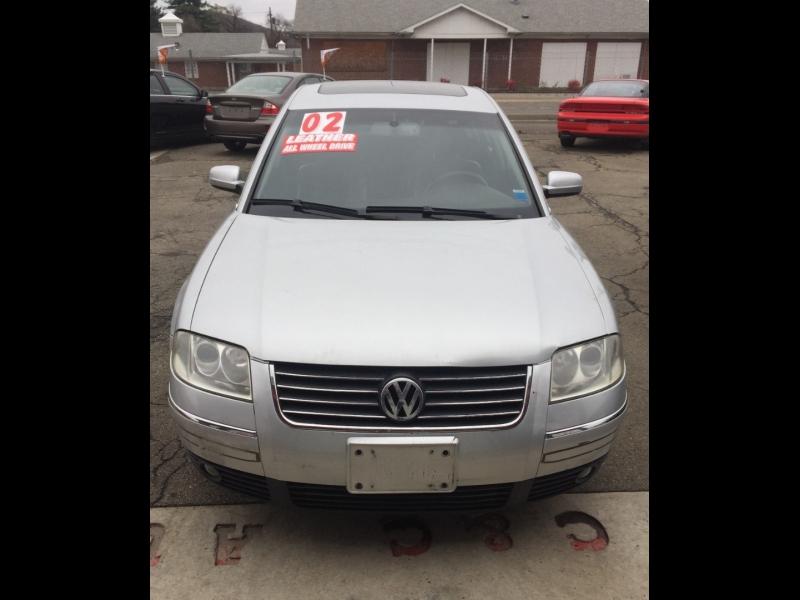 Volkswagen Passat 2002 price $3,995