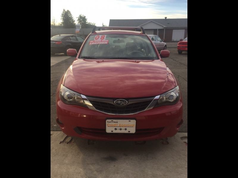 Subaru Impreza Wagon (Natl) 2008 price $6,875