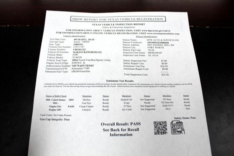 GMC Yukon Denali 2016 price $36,995