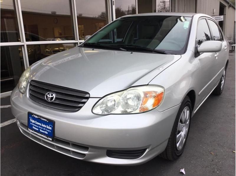 Toyota Corolla 2003 price $6,995