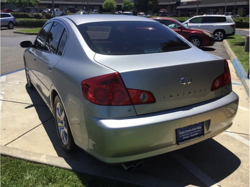 INFINITI G 2005 price $7,995