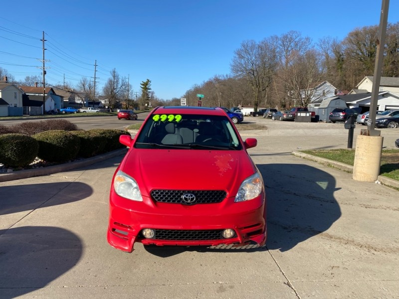 TOYOTA COROLLA MATRIX 2003 price $4,999