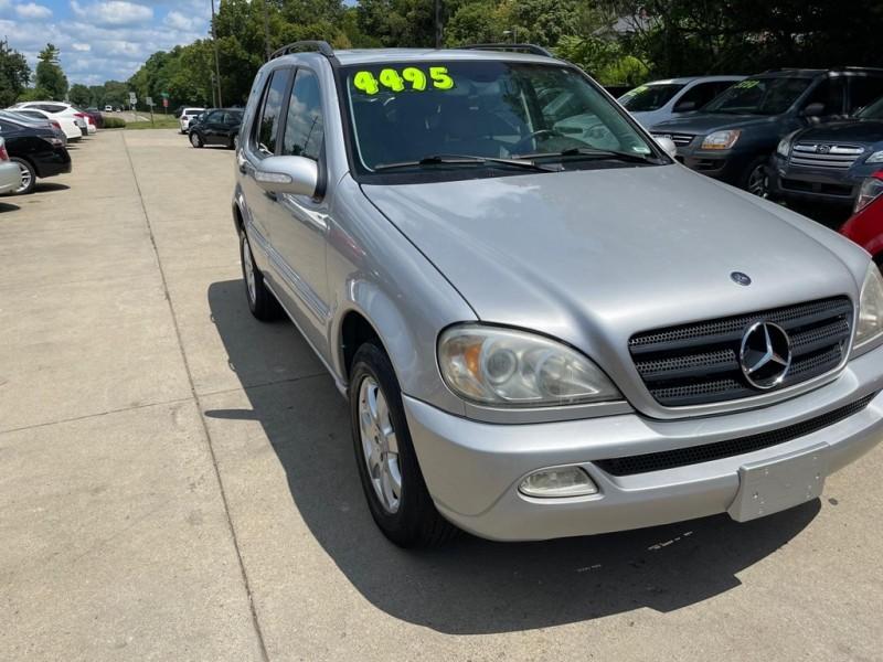 MERCEDES-BENZ ML 2002 price $4,495