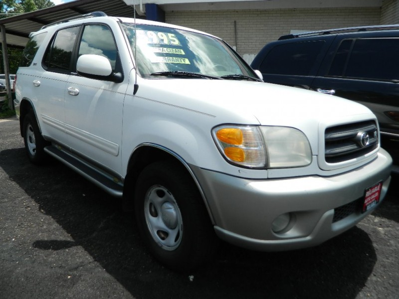 TOYOTA SEQUOIA 2002 price $5,500