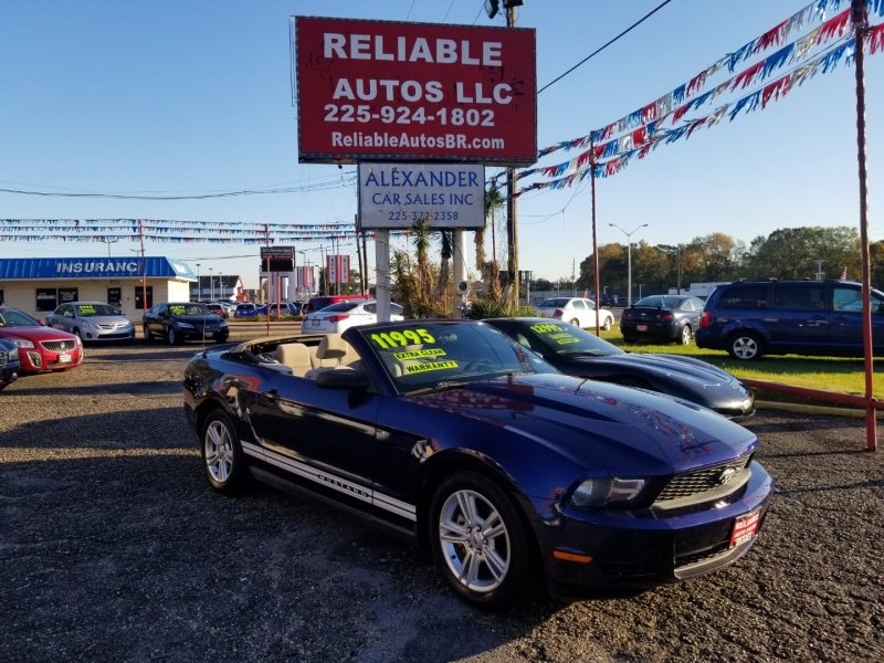 Ford MUSTANG 2010 price $11,500