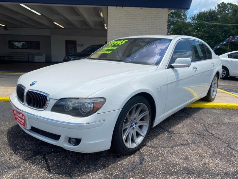 BMW 750 2007 price Call for Pricing.
