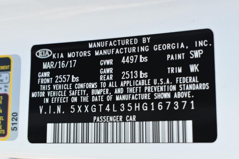 Kia Optima 2017 price $14,995