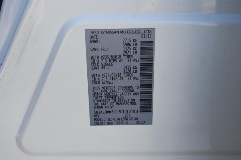 Infiniti QX60 2015 price $19,995