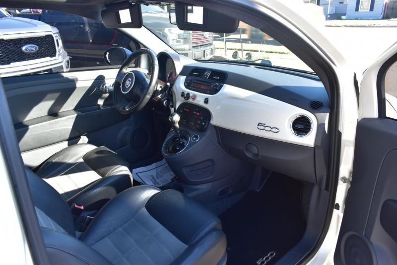 Fiat 500 2012 price $8,595
