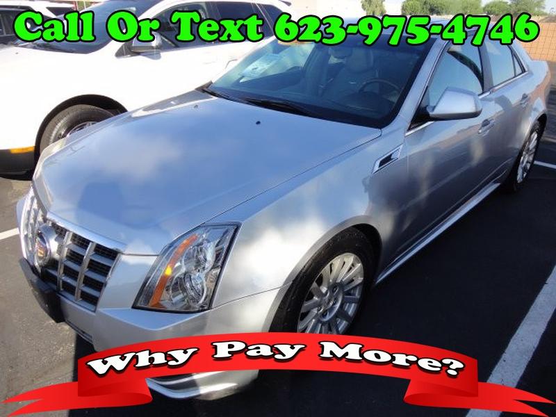 Cadillac CTS Sedan 2012 price $2,199 Down