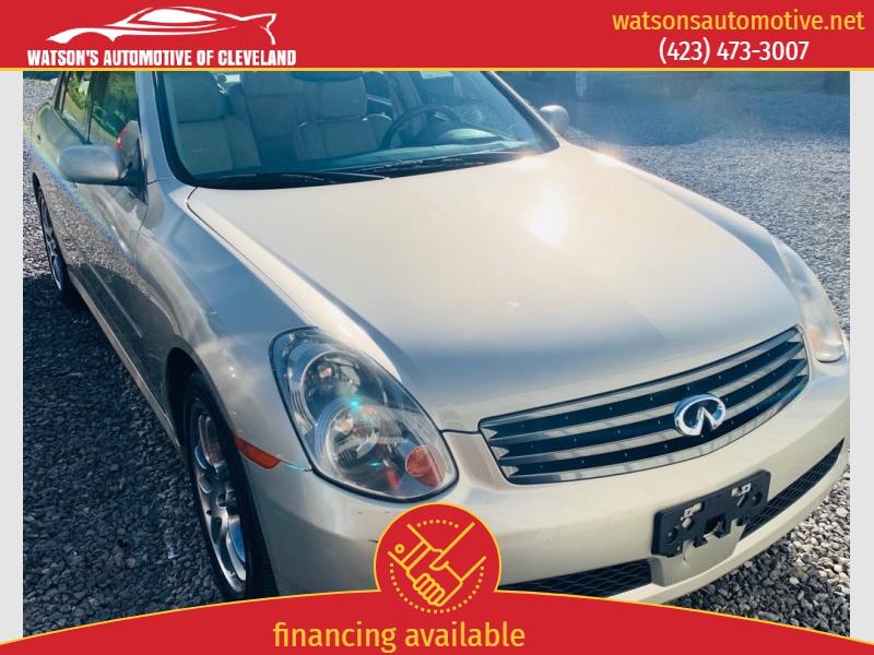INFINITI G35 2005 price $5,495