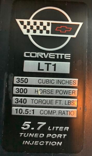 CHEVROLET CORVETTE 1993 price $7,999