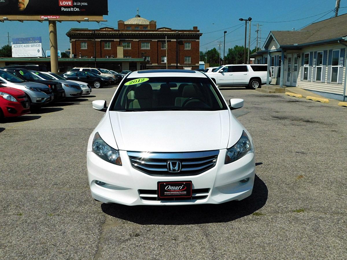 2012 honda accord sdn 4dr v6 auto ex omari auto sales dealership in south bend omari auto sales
