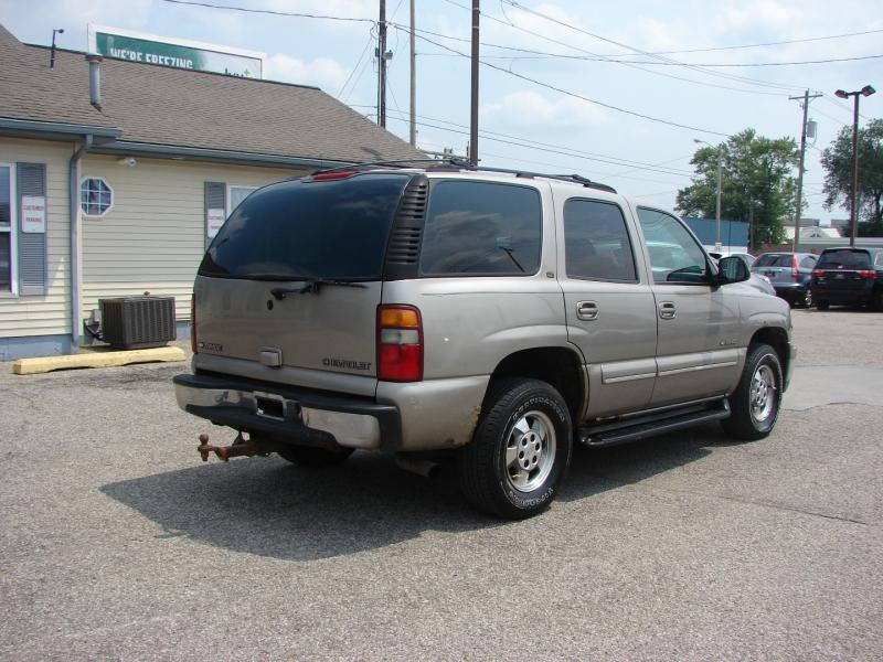 Chevrolet Tahoe 2001 price $3,900