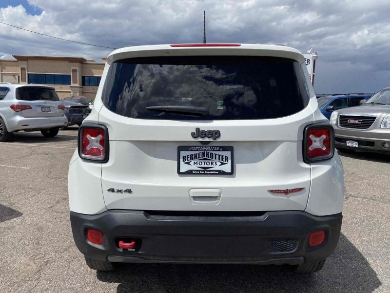 Jeep Renegade 2018 price $21,800