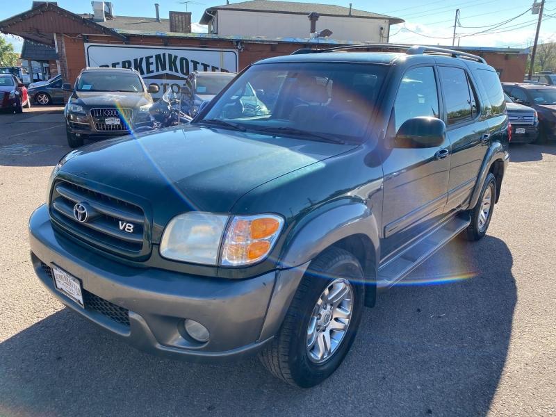 Toyota Sequoia 2003 price $4,777