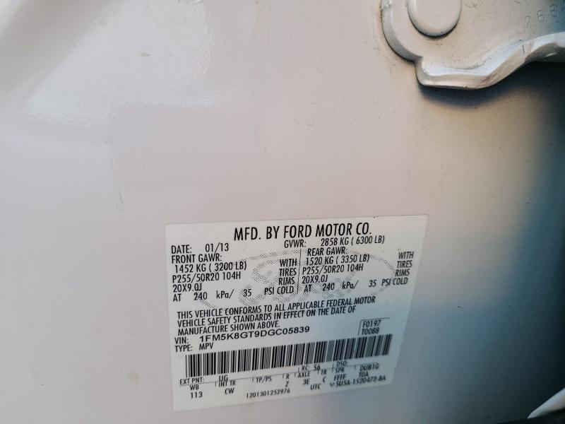 Ford Explorer 2013 price $13,400