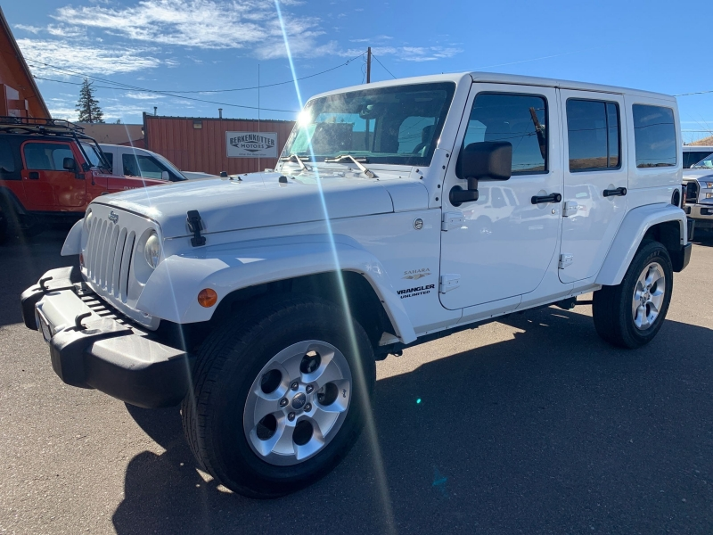Jeep Wrangler Unlimited 2013 price $25,995