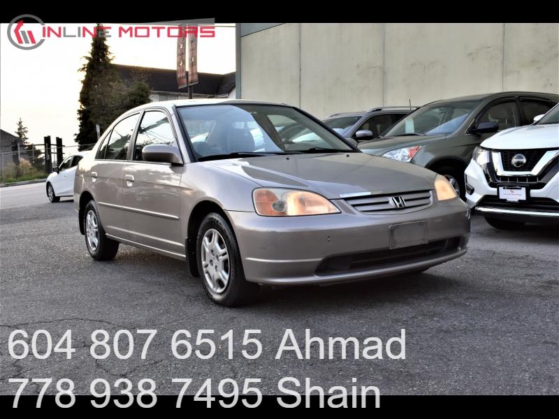 Honda Civic 2001 price $1,990