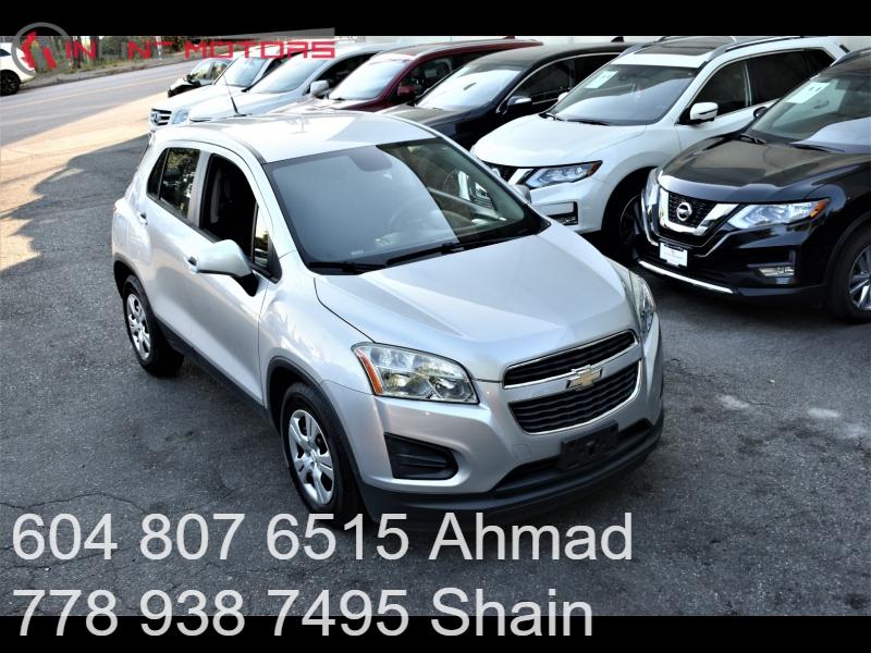 Chevrolet Trax 2013 price $9,500