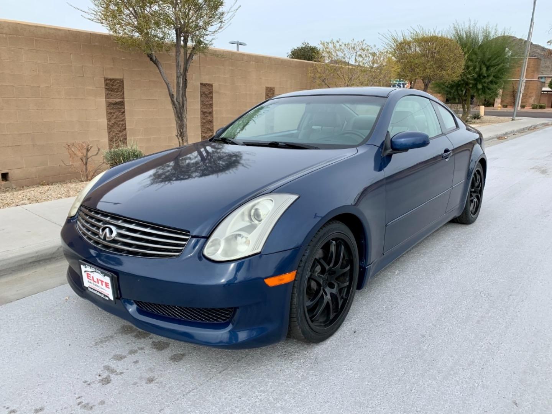 2006 Infiniti G35 Coupe Sport 6 Spd Elite Auto Gallery Dealership In Phoenix