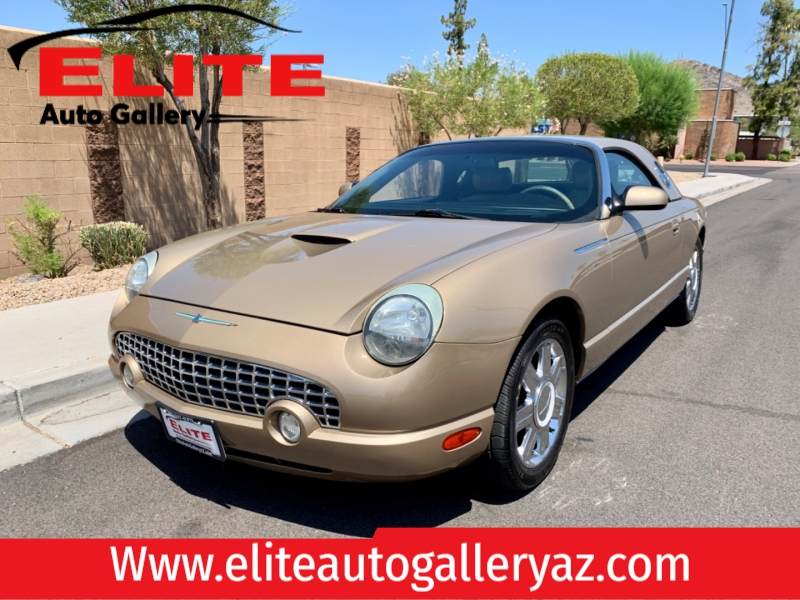 Ford Thunderbird 2005 price $10,950