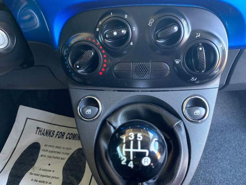 Fiat 500 2017 price $9,450