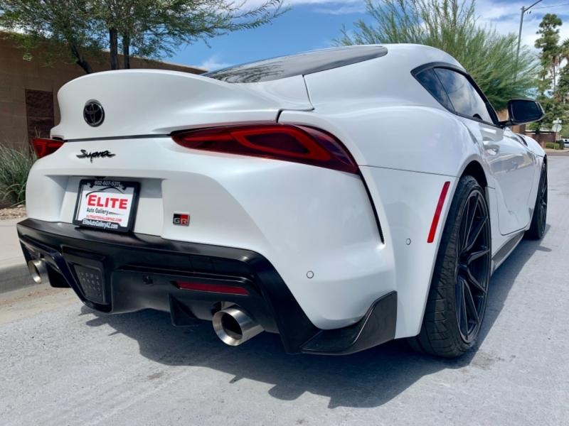 Toyota GR Supra 2021 price $61,950