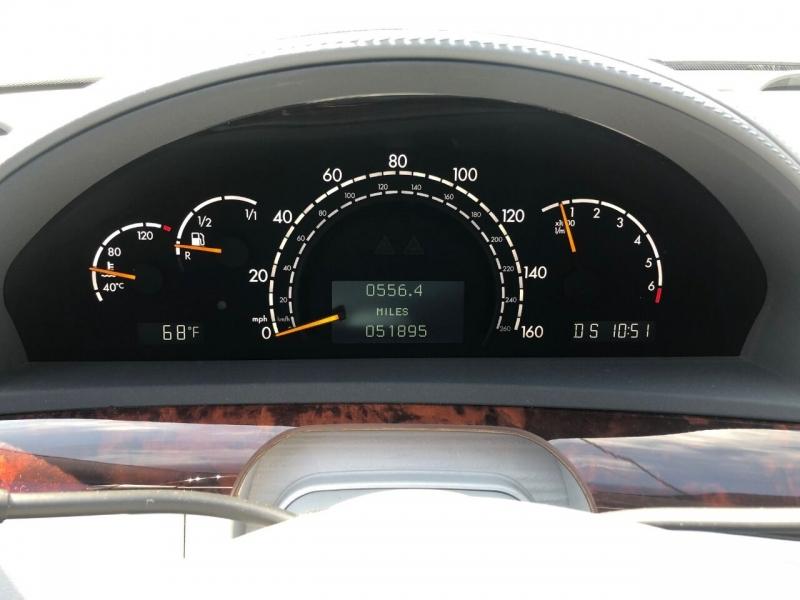 Mercedes-Benz S-Class 2002 price