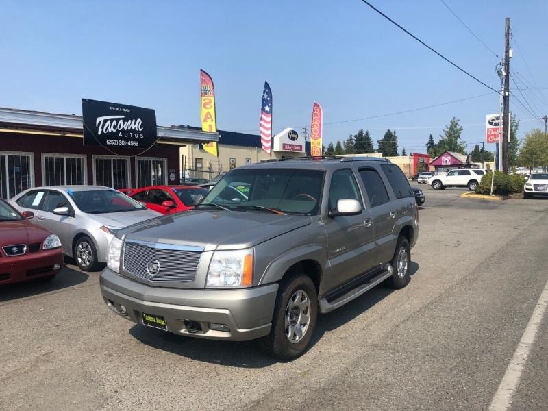 Cadillac Escalade 2002 price $6,590