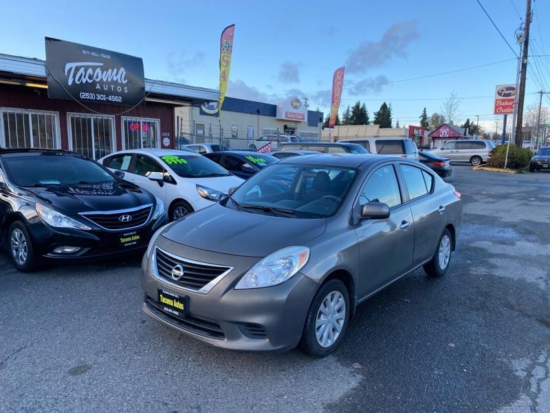 Nissan Versa 2012 price $5,990